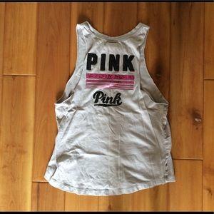 PINK Victoria's Secret mauve tank top